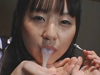 Cosplay Legal Age Teenager Swallowing Cum