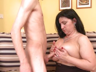 young boy fucking busty older lady