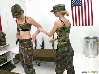 hot babes in military school