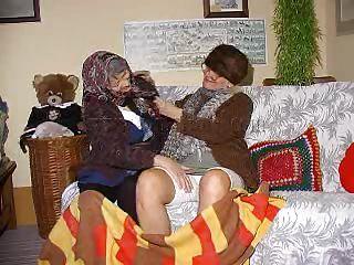 2 lustful grannies