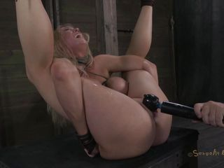 golden-haired treated like a worthless slut