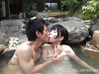 relaxing baths with his oriental angel