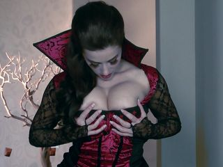 vampire wench is horny and needs to suck