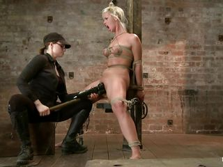 golden-haired slave and a skilled mistress