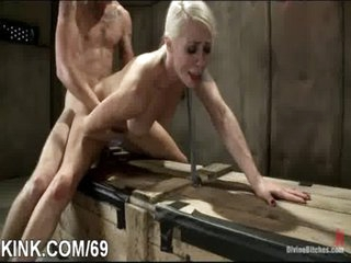 Huge tits, obedient housewife, dominated, bound