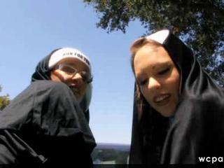 Ribald anal big booty nuns