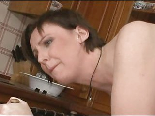 British Milf  Copulates Sons Friend