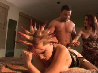 Wife Catches Her Husband Fucking His Punk Female-dominator In The As
