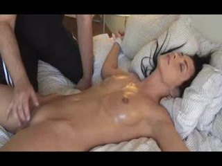 tied up beauty orgasm