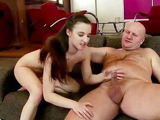 Teen fucking grandpa charming hard