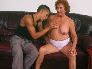 German Granny Izadora With Chap
