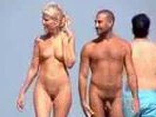 Nudist pair