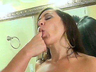 Sergio investigates love tunnel of lovely hotty Lexi Marie and finds it so tempting that his dick becomes ready for hawt sex