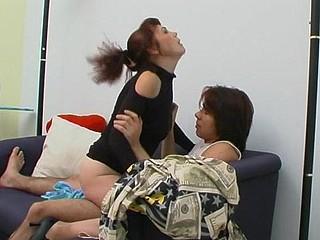 Lillian&Danil leggy mommy on movie scene
