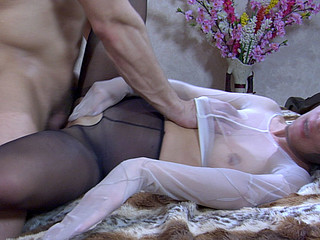 Keith&Nicholas videotaped during the time that pantyhosing