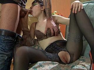 Helena&Marcus kinky pantyhose movie