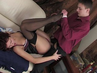 Patricia&Paul naughty nylon action