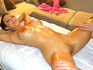 Oily Wet and Sexually excited