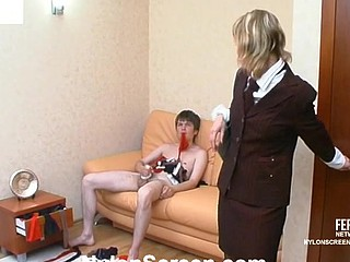 Mima&Ernest naughty nylon action