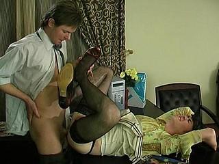Ernest&Morgan homosexual sissy movie scene