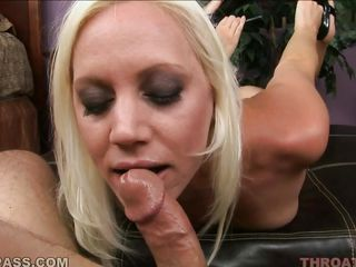 horny kacey villainess plays with a massive rod