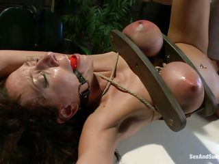 cum addicted brunette milf punished and fucked in the backdoor