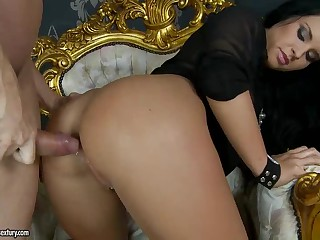 Bettina Dicapri gets her butt drilled balls unfathomable from behind