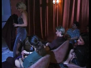 mature and younger hotty gangbanged in porn cinema