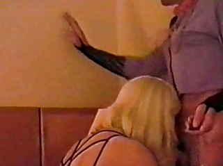 Skilful crossdressers sucking twosome