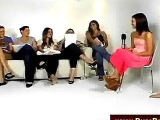 Girls Talking Shlong On Camera