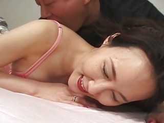 Hot Oriental Babe Receives It Hard In T