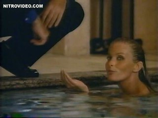 Stunning Retro Blonde Bo Derek Swimming Totally Bare