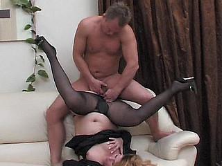 Paulina&Adrian aged hose action