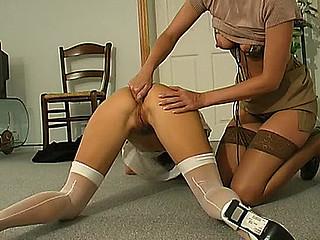 Maria&Susanna sexy anal lesbian action
