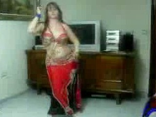 Hawt Arab Dances For The Web camera
