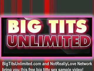 Big tit blond masturbating