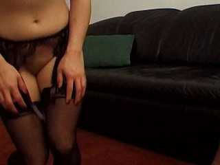 Mature Asian housewife give him a hot blowjob and says ahhh to his cum