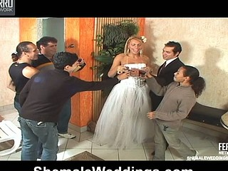 Duda marvelous shemale bride