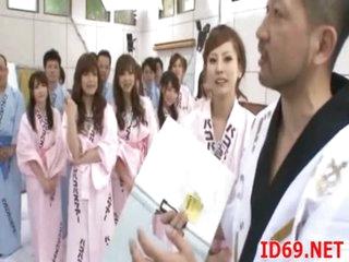 Japanese AV Model gal masturbates