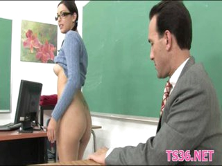 Schoolgirl behaving badly