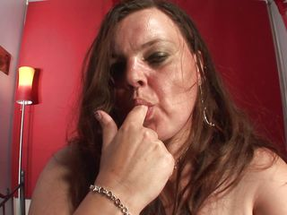 sexy mommy making love with her self