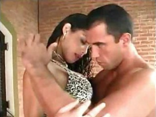 Titty Tgirl gets anal fucking