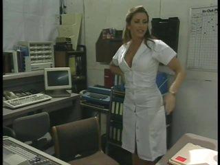 Lustful Retro Nurse Shanna McCullough Masturbating