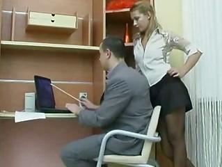 Very Hawt Russian Non-professional Secretary