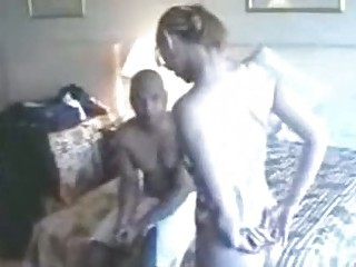 Youthful White Wife Bangs Upscale Dark in H ...