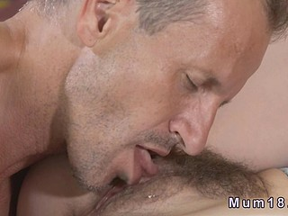 Hirsute Milfs slit banged in bedroom