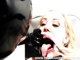 Annette Schwarz in Body Fluid Torture