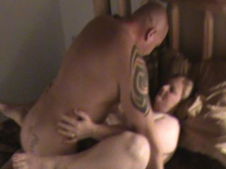 Sexy BBW let&amp,#039,s boyfriend cum inside her for the second time while hubby videos it.