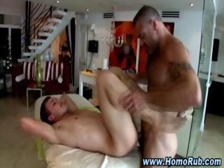 Curious str8 guy takes dick