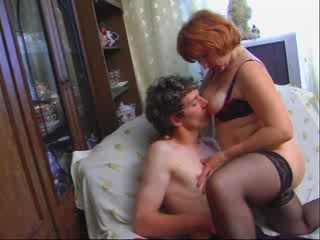 Russian Mature And Lad